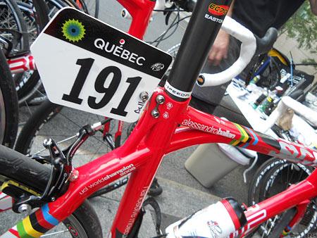 Alessandro Ballan BMC SLR01 racing bike