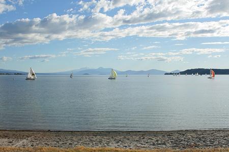 View across Lake Taupo