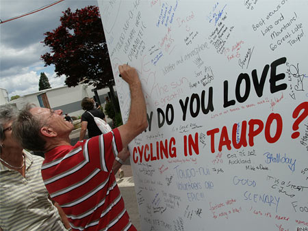 Why do you love cycling in Taupo
