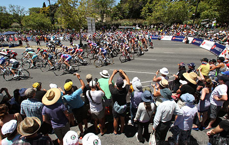 2011 Tour Down Under Stage 6 Hairpin