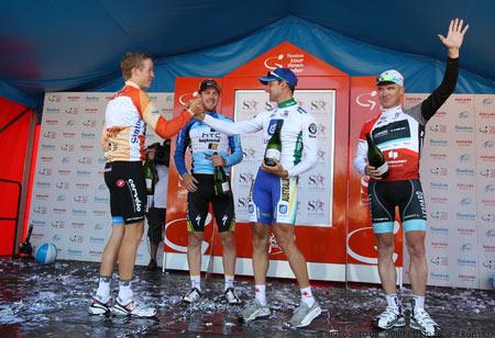 2011 Tour Down Under Stage 6 Podium