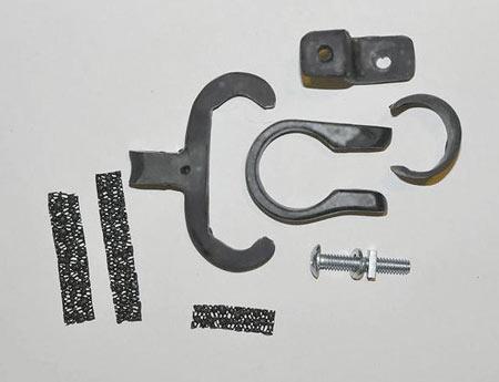 Rigidmount Otek rear facing video camera assembly