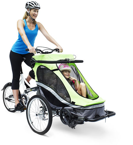 Zigo Leader X2 Bike and Pram