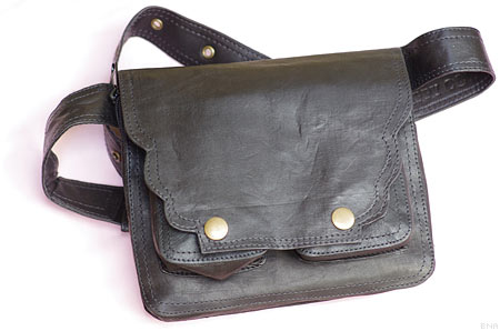 Happy Cow Leather Hip Bag