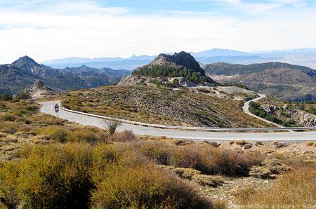 Cycle Tour Sierra Nevada Climbs