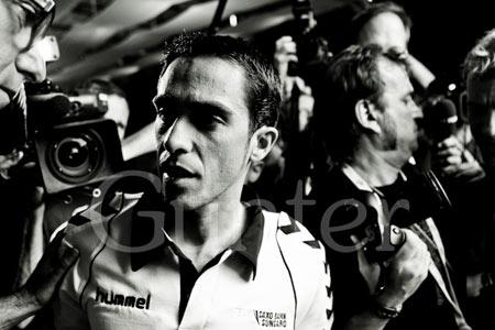 TDF presentation Alberto Contador
