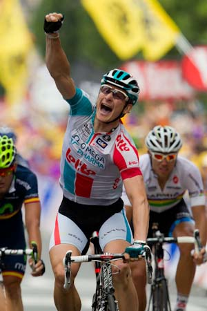 TDF Andre Greipel takes out stage 10 ahead of Cavendish