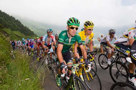TDF Thomas Voeckler remains in the yellow jersey, but for how long