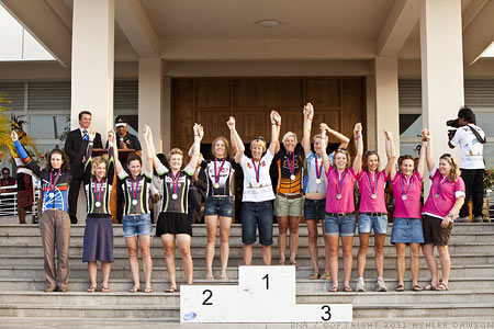 Tour de Timor Podium