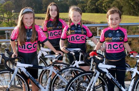 Lidcomb Girls cycling racing
