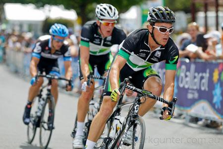 Australian Road Championships - Jack Bobridge leads the break