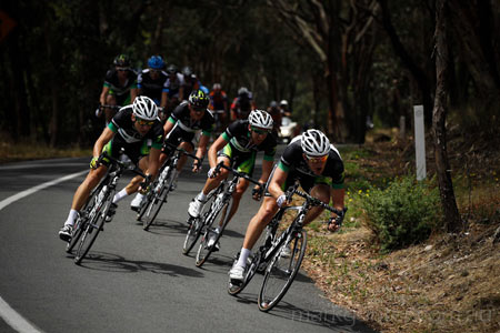 Australian Road Championships - GreenEDGE were looking to control the race.