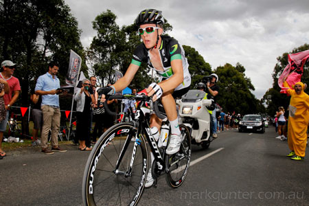 Australian Road Championships - Cameron Meyer a long way in front