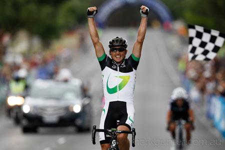Australian Road Championships - Simon Gerrans takes a memorable race.