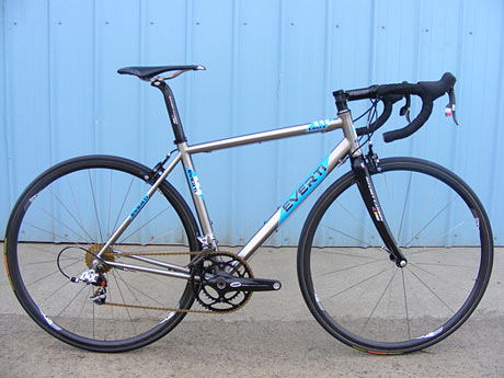 Everti Titanium Bicycles Eagle