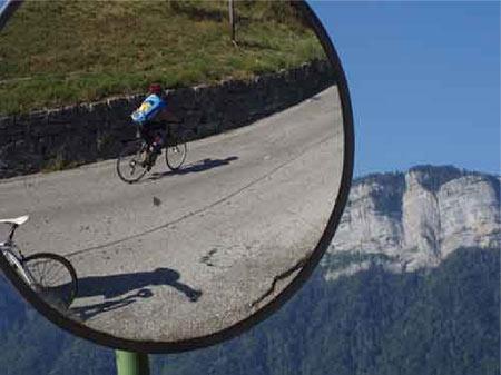 The run up to Col de la Forclaz