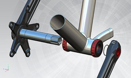 3D Rotor Crank - Carlos Sastre