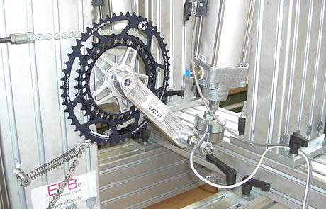 Rotor 3D crank testing