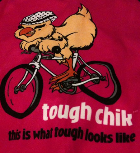 Tough Chik Cycling Jersey