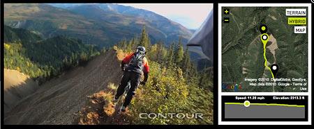 Contour HD GPS camera