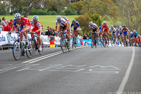 2010 UCI World Championships Melbourne: The Under 23's overcoming the Barrabool Road Climb