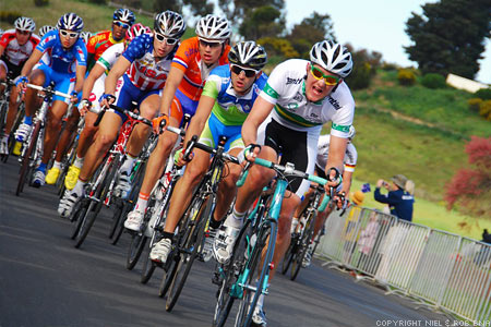 2010 UCI World Championships Melbourne: Setting the pace on the Peloton in the last round
