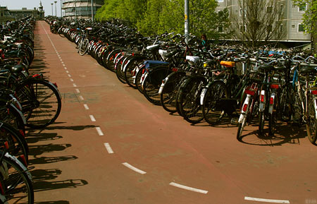 Dutch Cycling Infrastructure tour 2011