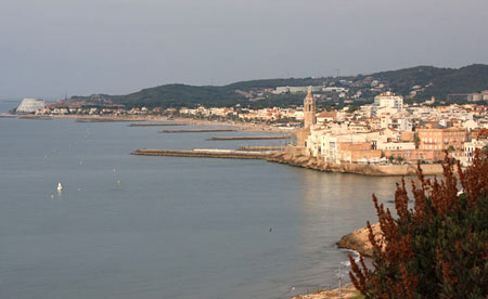 Trans-Pyrenees Sitges View