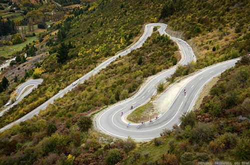 The Tour of New Zealand Crown Ranges