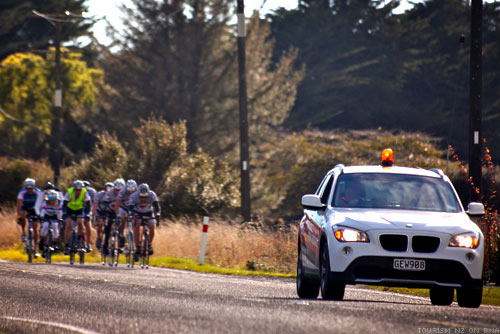 Tour of New Zealand Lead Car