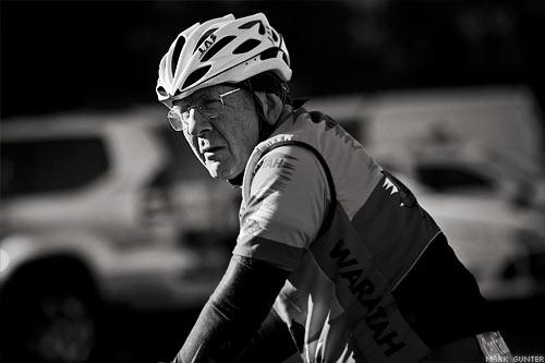 A Waratah Masters Cyclist
