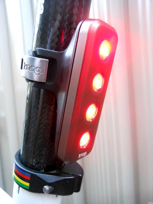 KNOG blinder bright rear bicycle light