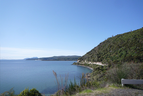 Spectacular Cycling on the Shores of Taupo