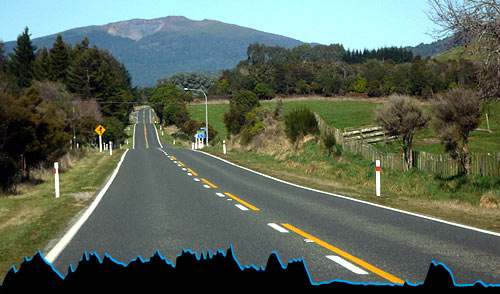 Video Lake Taupo Cycling Profile