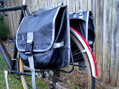 Timbuk2 Mounted Bicycle Panniers