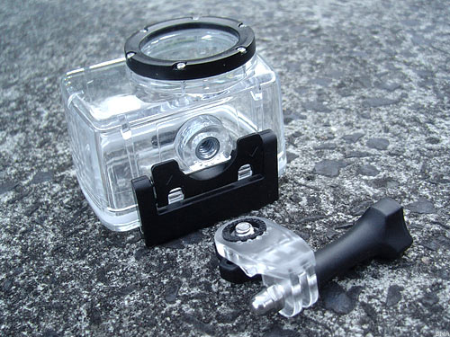 iDV mini HD waterproof case and mount