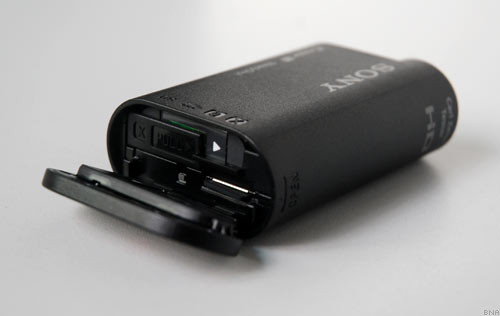 Sony Action Cam Battery and MicroSD Memory Card