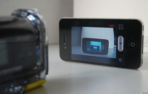Sony Action Cam Wifi Viewfinder