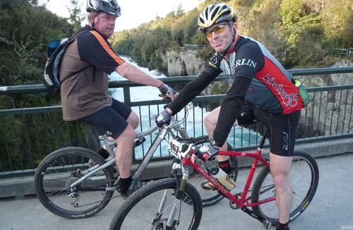 Mountain Biking Taupo Huka