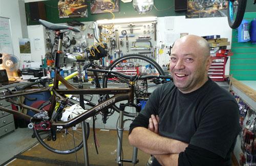 Nigel Tipene Phoenix Cyclery