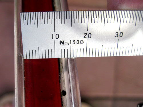 Measuring Bicycle Rim Tire Size