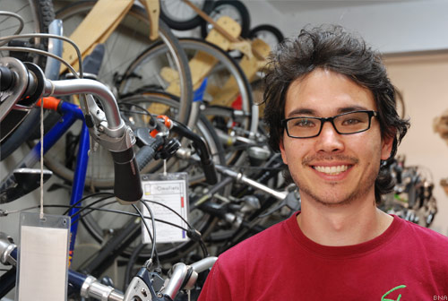 Maurice Wells Glow Worm Bicycles