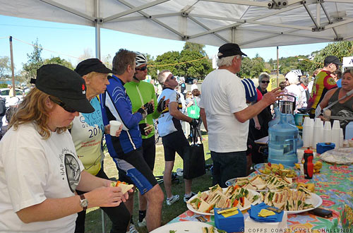 Cycling Event Catering