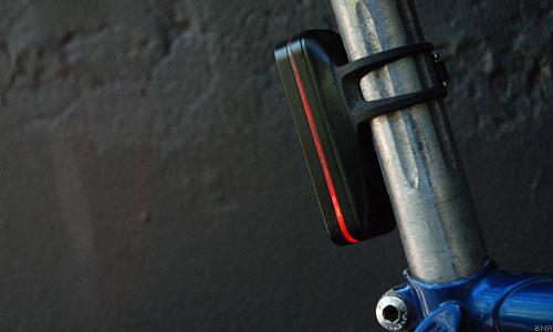 Knog bike rear light side illumination