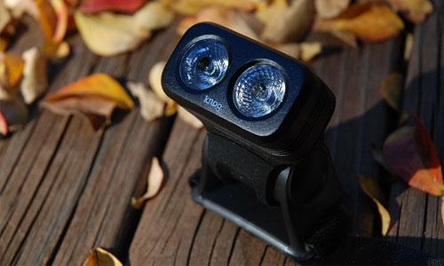 Knog Helmet Mount Road light blinder