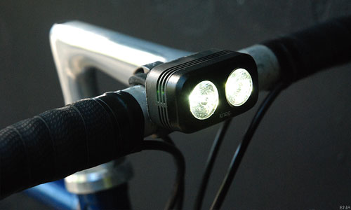 Knog blinder lumens white cycling safety light