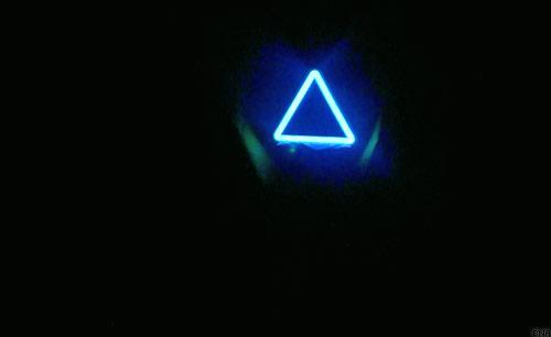 Magic Blue Triangle Australian Cycling