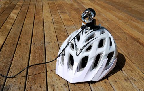 Magicshine MJ-808E Bike Helmet Mounted