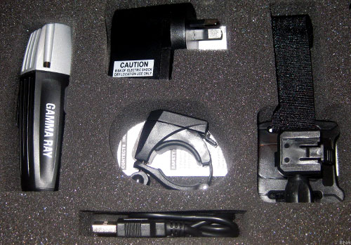 ES501 Gamma Ray USB Bike Light