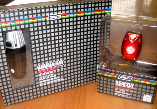 ES601 Beacon ES501 Gamma Ray Bike Lights